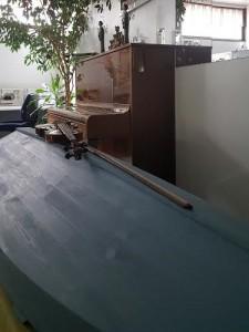 Ekohautauspalvelu Taivaanranta, siniharmaa venearkku